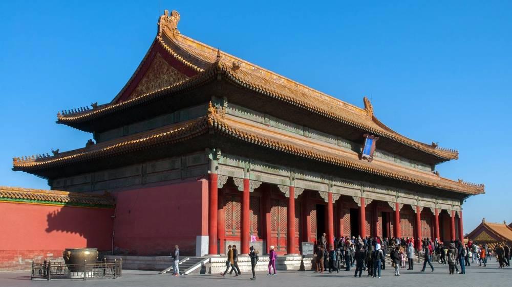 El palacio de la armonía conservada