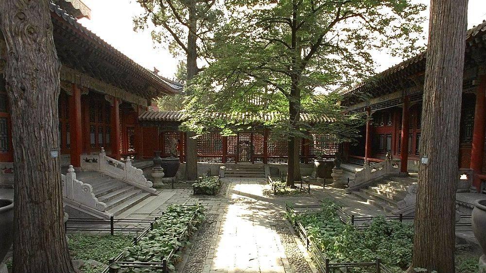 El palacio de Qianlong