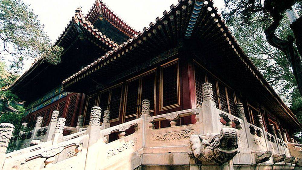 El templo de la paz imperial