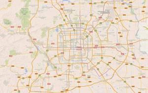 El centro de Pekín