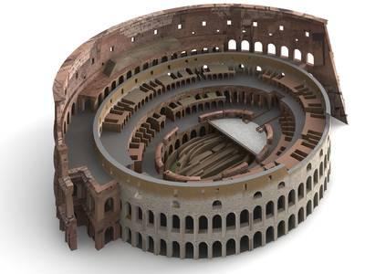 Diagrama del Coliseo