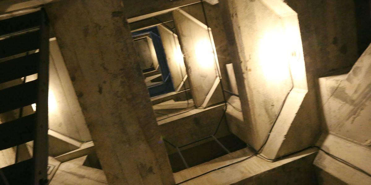 El interior del corcovado.
