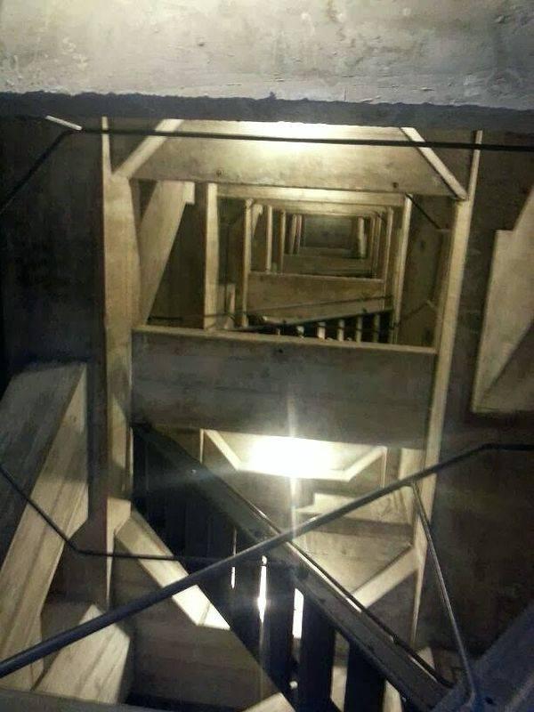 Interior del Cristo Redentor de Río