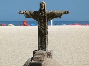 Réplica efímera en Río de Janeiro