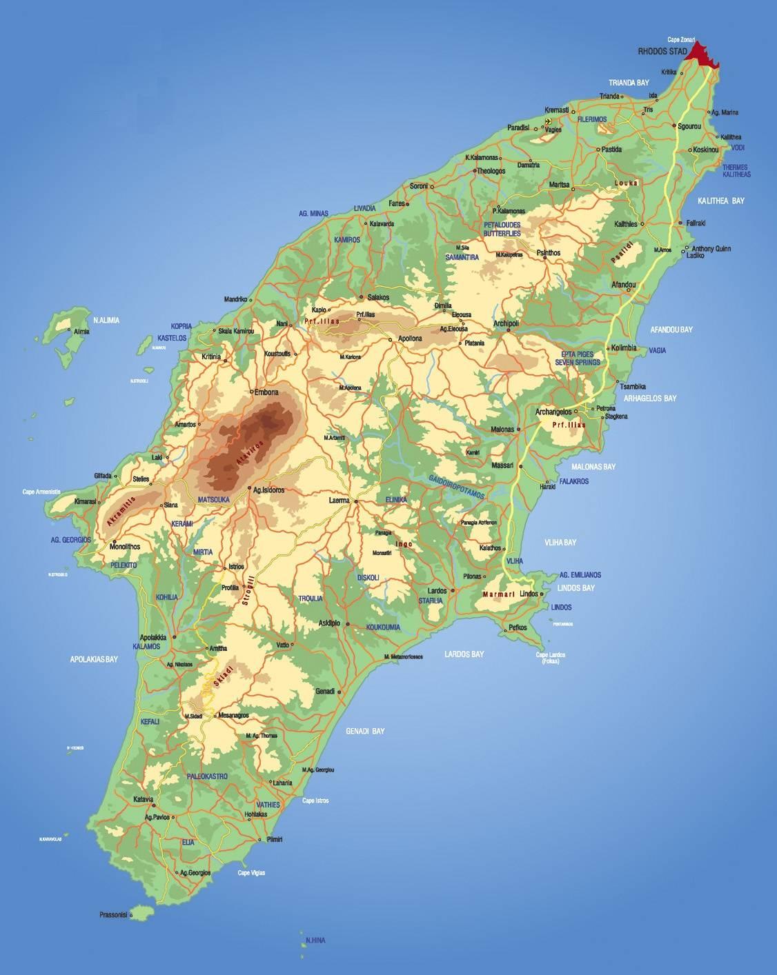 Mapa de Rodas