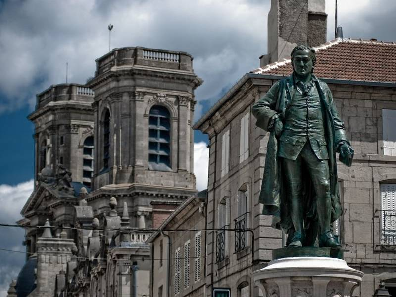 Estatua de Diderot, Langres