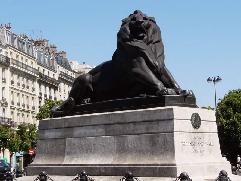 Réplica del León de Belfort