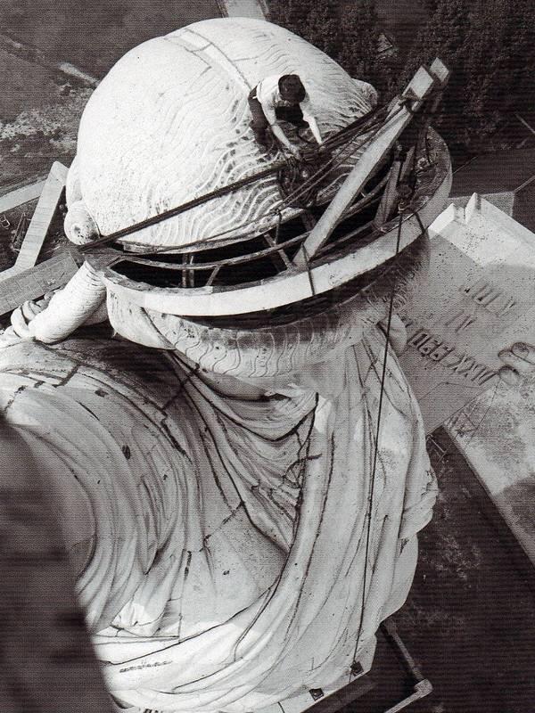 Trabajos de reparación, en 1938