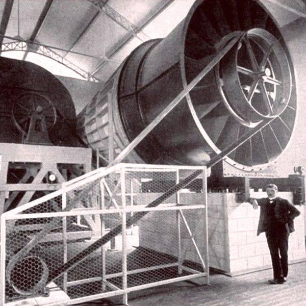 El túnel de viento de Gustave Eiffel.