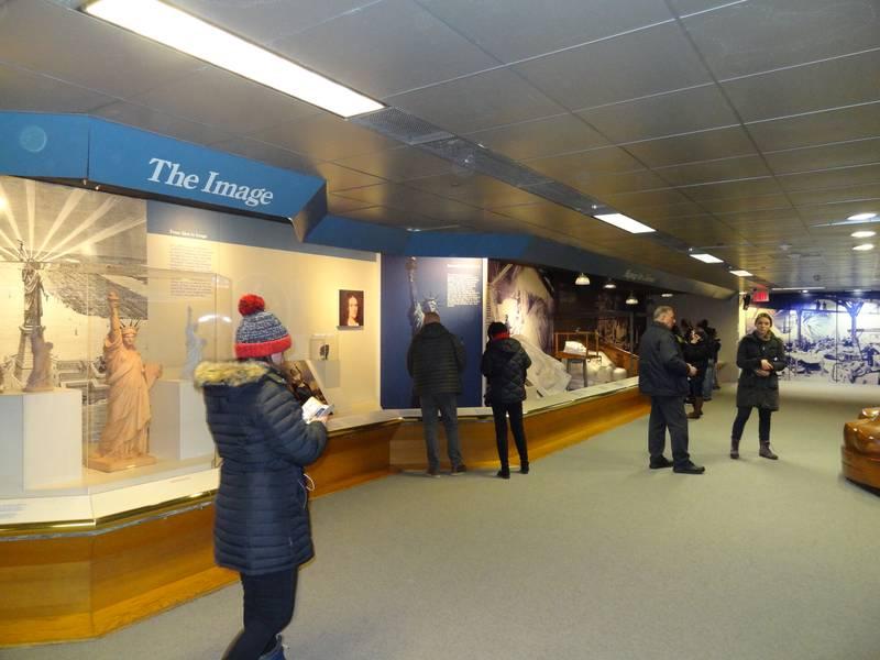 El museo de la estatua de la libertad