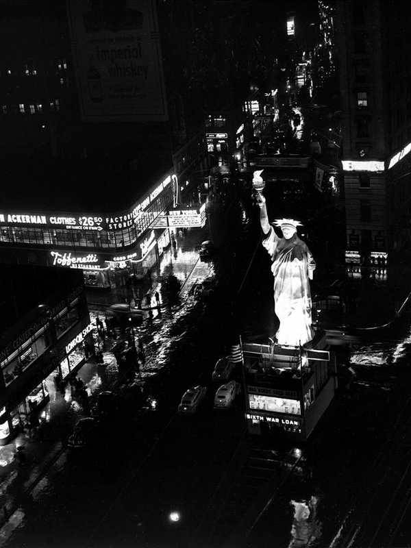 Réplica en Times Square
