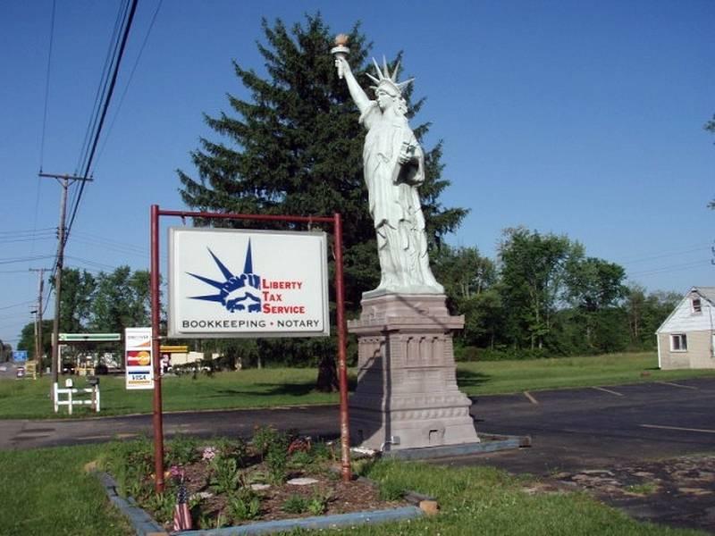 Réplica en Leavittsburg