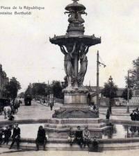 Fuente Bartholdi, Reims