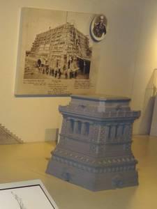 Modelo del pedestal