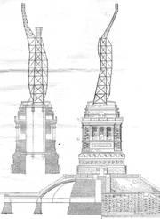 Estructura de la estatua