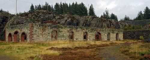 Las instalaciones mineras de Karmoy