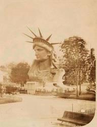 La cabeza en la exposición de 1878