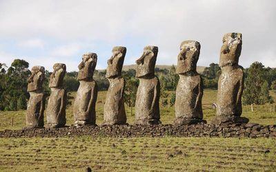 Estatuas de Isla de Pascua