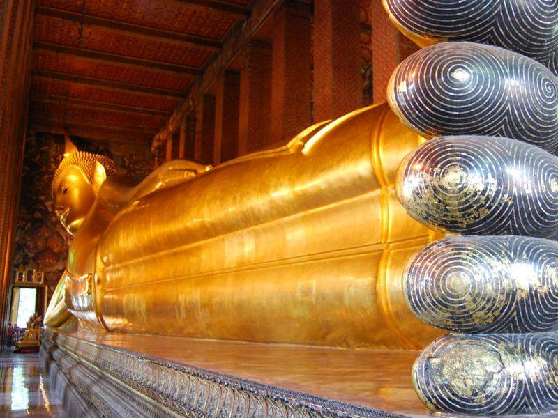 Gran Buda reclinado, Wat Pho