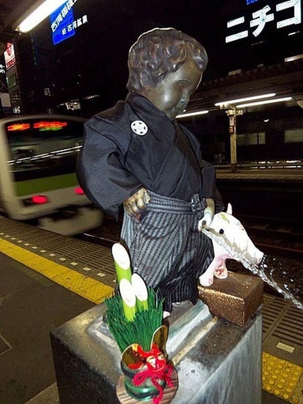 Manneken Pis de Tokyo