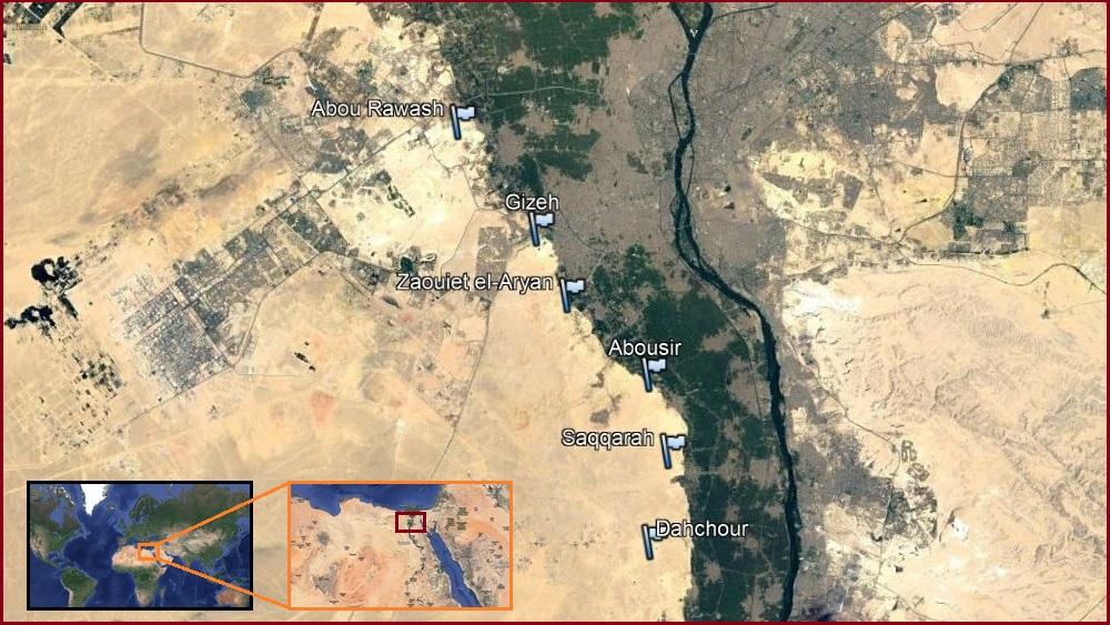 Mapa de necrópolis (click para ampliar)