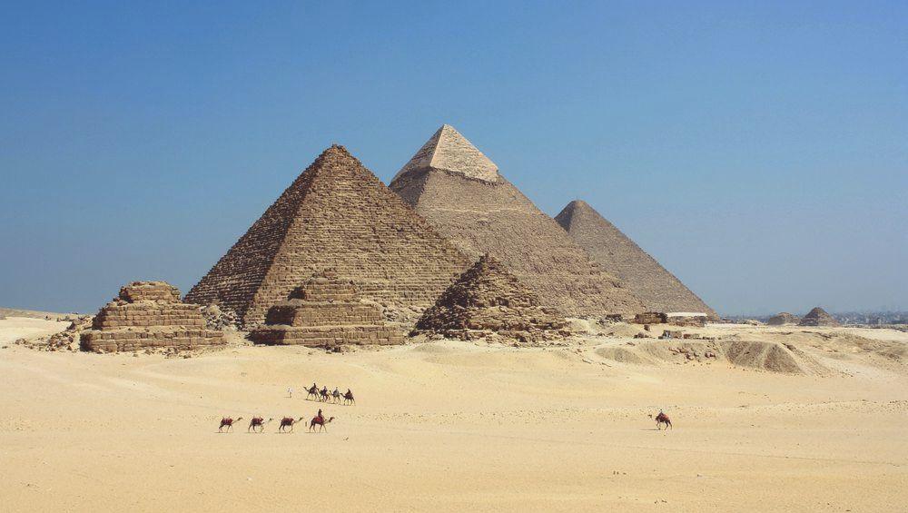 Pirámides de la meseta de Guiza
