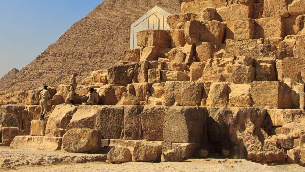 Bloques de piedra caliza