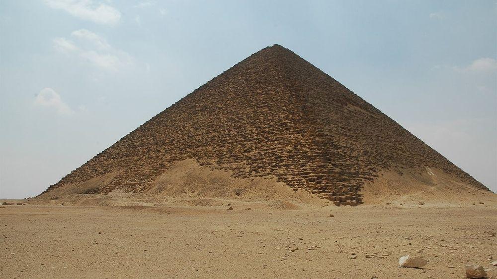 La pirámide roja, de Snéfrou