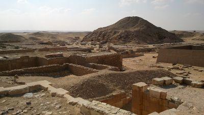 La meseta de Saqqara