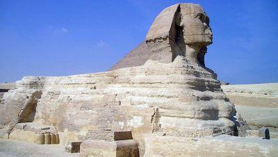 La gran Esfinge de Egipto