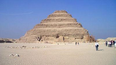 La pirámide escalonada de Zoser