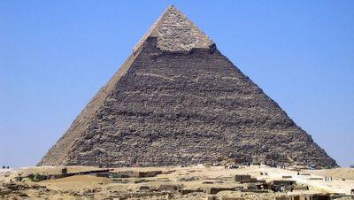 La pirámide de Kefren