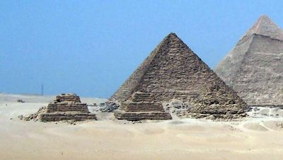 La pirámide de Micerinos