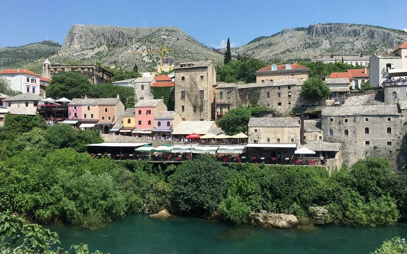 Mostar, a orillas del Neretva