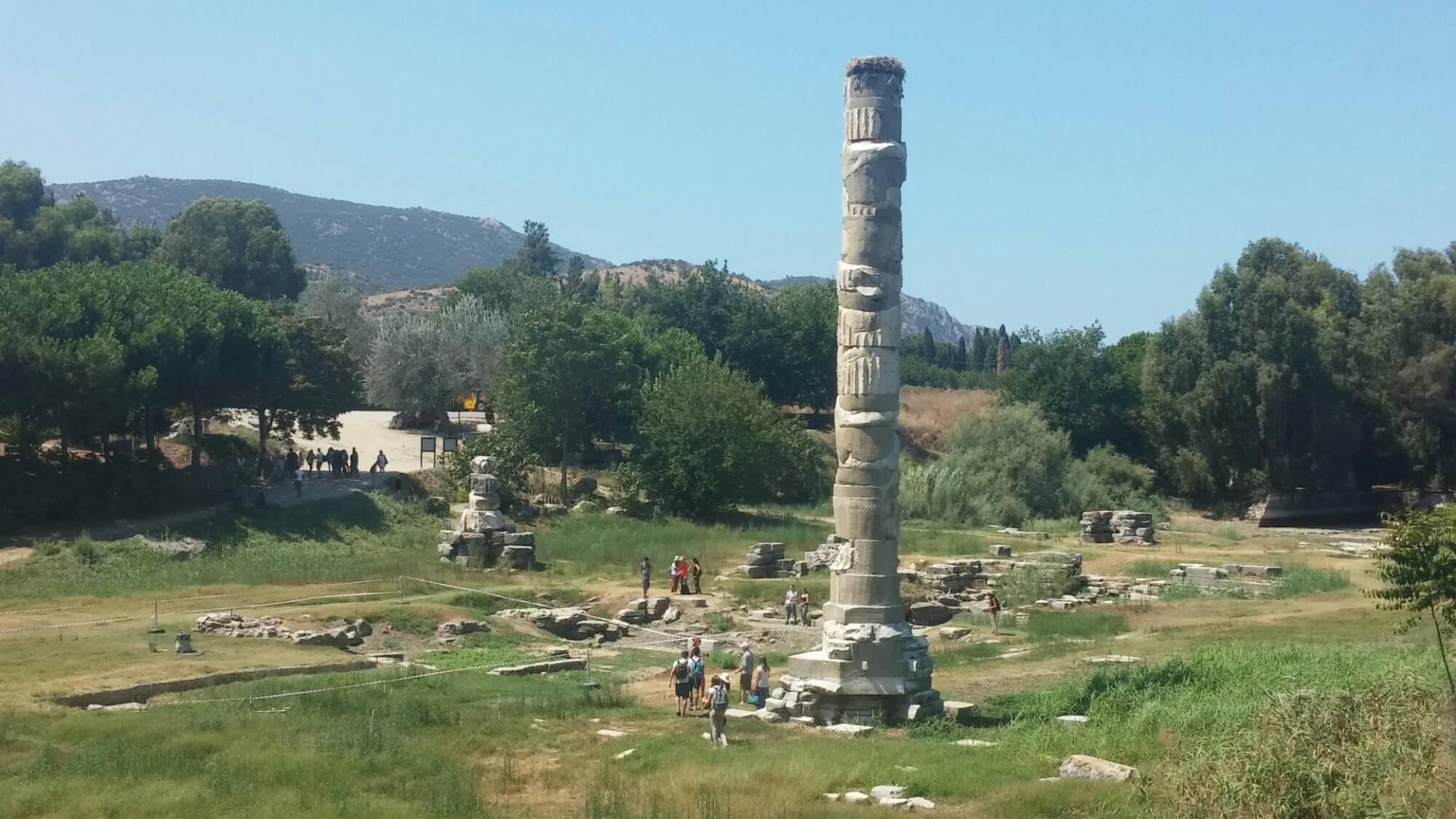 El sitio arqueológico