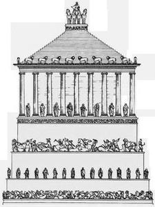Plano del mausoleo