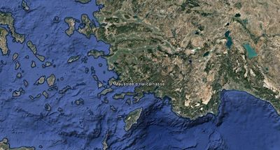Vista aérea de Turquía
