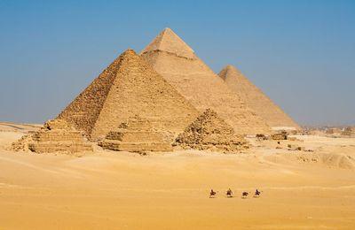 La pirámide de Cheops
