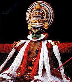 Bailarín de Kathakali