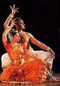 Bailarín de Kuchipudi
