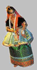 Bailarín de Manipuri
