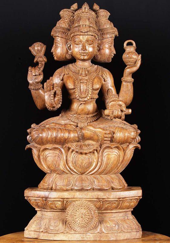 El dios Brahma