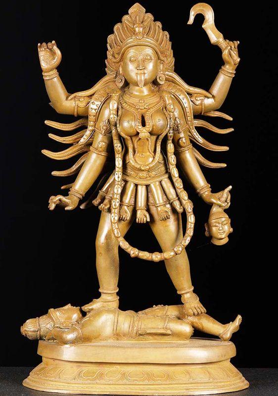 El dios Kali
