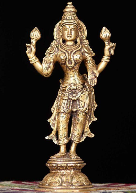 El dios Lakshmi