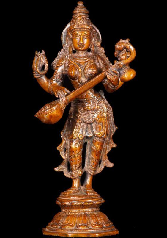 El dios Saraswati