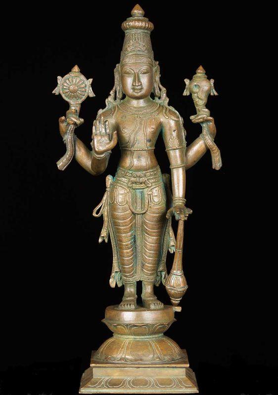 El Dios Vishnu