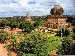 Las tumbas de los reyes Qutub Shahi