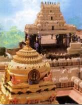 El templo de Kanaka Durga