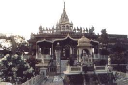 El templo de Pareshnath