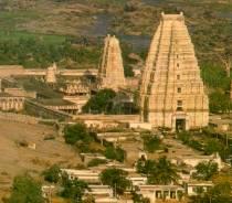 El templo de Virupaksha